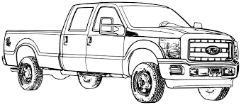 ford truck coloring pages inspirational coloring pages trucks