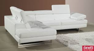 modern leather sofa bed. Simple Leather Home Element  Modern Leather Corner Sofa Adjustable Headrests And Armrest   Glubdubs Throughout Bed