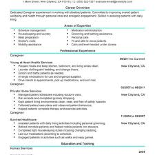 Caregiver Resume Sample caregiver resume samples free unforgettable caregiver resume 72