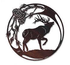 wildlife metal wall art at timberline western metal art western metal art silhouettes