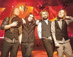 SHINEDOWN band reprint signed autographed photo #2 Brent Smith at Amazon's  Entertainment Collectibles Store