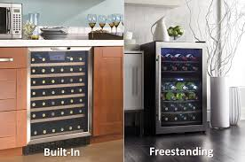 built in wine fridge. BuiltInFreestanding Built In Wine Fridge