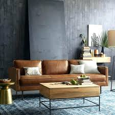 tan couch living room brown leather ideas outstanding sofa west elm within quantum sectional co tan couch living room