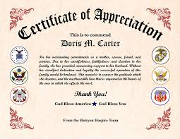 Military Certificate Templates Military Wife Appreciation Certificate Veterans day Pinterest 6