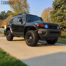 2007 Toyota Fj Cruiser Xd Monster Rough Country Suspension Lift 3in
