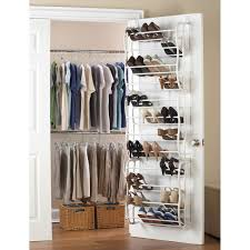 ... Efficient Storage Over The Door Shoe Rack Organizer Dollar Tree Ideas:  Remarkable Door ...