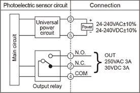 autonics bx700 dfr photoelectric sensor diffuse reflective light autonics bx series control output diagram power
