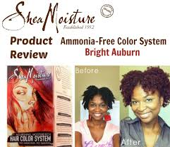 Sheamoisture Ammonia Free Hair Color System Review