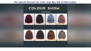 Aisibeauty Short Bob Wigs for Women Synthetic Wavy Wigs with Bangs Shoulder  Length Red Wig Heat R - YouTube