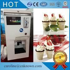 Frozen Yogurt Vending Machine Enchanting Italian Automatic Commercial Soft Ice Cream Frozen Yogurt