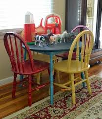 kid s table and chairs