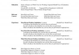 Microsoft Templates For Resume New Free Resume Templates Microsoft ...