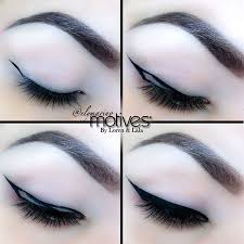 cat eyes gothic makeup eyeliner cateye makeup eyeliner ideas makeup eyes hair makeup cateye eyeliner tutorial double winged
