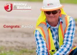 Congrats: Randy — Binkley & Barfield