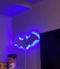 3d Led Night Light Decorative Lamp Usb Bat Iluminaria Anywhere Light Children Lights Custom Infinity Mirror Awesome Baby Bedroom