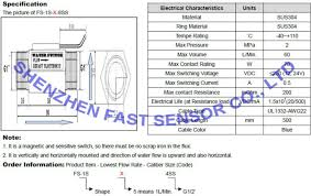 2 wires stainless steel and magnetic vertical and horizontal Water Flow Switch Wiring Diagram 2 wires stainless steel and magnetic vertical and horizontal electronic water oil pump flow switch Temperature Switch Wiring Diagram