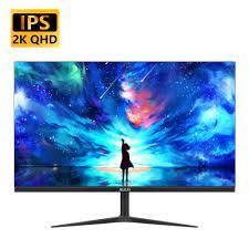 MUCAI 24/27 Inch 2K Monitor 75Hz Desktop PC Lcd QHD Display Gaming Flat  Panel Screen Computer LED 2560*1440 HDMI/DP|LCD Monitors