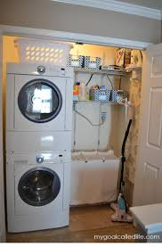 Small Laundry Machine Top 25 Best Small Laundry Closet Ideas On Pinterest Laundry