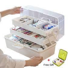 giá ưu đãi] hộp đựng thuốc, dụng cụ y tế, đồ dùng gia đình 3 tầng nhiều  ngăn đựng, giúp sắp xếp, dễ tìm kiếm - Sắp xếp theo liên quan sản