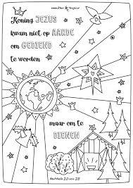 064 Emmanuel Kerst Kerstmis En Bijbel Kleurplaten