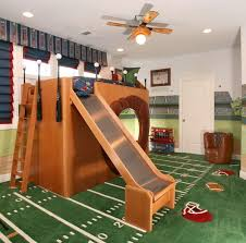 bunk bed with slide and desk. Image Of: Dollhouse Bunk Bed With Slide And Desk L