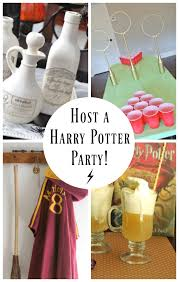 15 harry potter party ideas