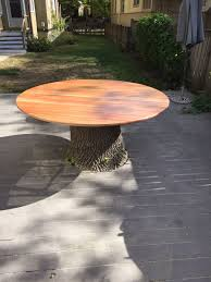 tree stump furniture. Tree Stump Table Custom Furniture I