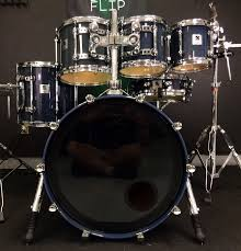 Sonor Designer Series Sonor Designer Birdseye Azure 6pc Maple Light Drum Set