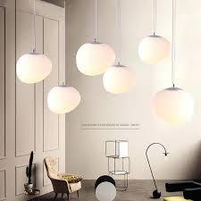 white globe pendant light globe pendant lights white glass ball pendant lamp re suspension kitchen light
