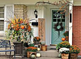 flower pots ideas for front porch amazing front porch decorating idea with single turquoise half