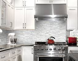 kitchen backsplash glass tile. Plain Kitchen Backsplash Ideas  Light Gray Glass Tile For Kitchen