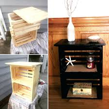 wood crate furniture diy. Large Size Of Side Table Dog Kennel Coffee Astounding Brown Square Modern Wood Crate With Storage Furniture Diy