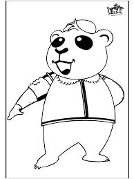 Panda 2 Kleurplaten Dierentuin