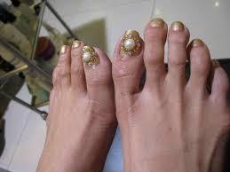 Toe Nail Designs With Rhinestones   Graham Reid