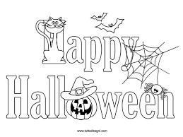 20 Immagini Di Halloween Da Colorare Disegni Da Colorare