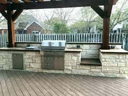 outdoor deck kitchen ideas built in grill on wood deck kitchen ideas outdoor cooking area outside