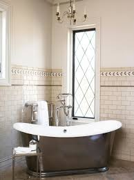 beautiful chandelier bathroom lighting classic bathroom lighting tile accent walls classic tub small