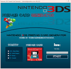 3ds prepaid card code generator