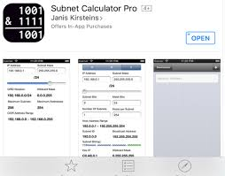 How To Calculate Network Subnets On Ios With This Free App