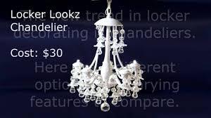 locker chandelier ideas
