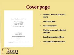 Business Plan Title Business Plan Title Page Cover For On Ideas Of