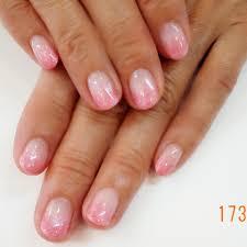 ピンクのラメグラデーション アイラッシュネイルサロン アイリス