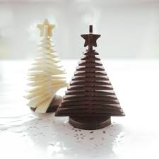 chocolate tree | 3D Christmas Tree Chocolate Mould | Unique Home Living