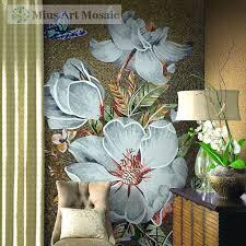 kitchen tile backsplash decorative wall stickers gold glass mosaic hg1109b