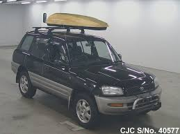 1997 Toyota Rav4 Black for sale | Stock No. 40577 | Japanese Used ...