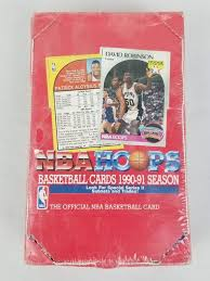 Shop with afterpay on eligible items. Nba Hoops Basketball Cards 1990 91 Season Booster Box Original Shrinkwrap Estatesales Org