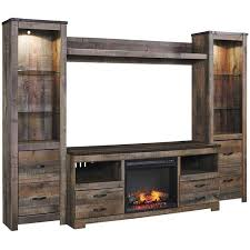 picture of trinell wall unit with fireplace console electric fireplace tv standelectric fireplace a centerelectric fireplace