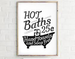 pretentious inspiration vintage bathroom wall decor sepia prints or hot baths art poster instant download on sepia bathroom wall art with enchanting vintage bathroom wall decor elegant art ideas arsmart fo