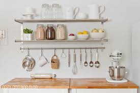 awesome ikea kitchen wall storage ideas