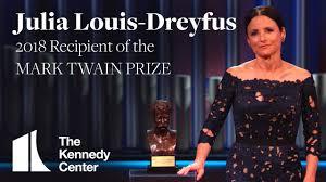 Julia Louis Dreyfus Acceptance Speech 2018 Mark Twain Prize